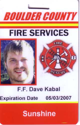 Firefighter dave